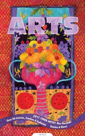 Roz Marshall Cover Art - Big Island Arts Annual