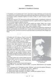 Capitolo VII - Le Operazioni in Tripolitania e Cirenaica