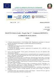 Download Decreto pubblicazione graduatorie definitive