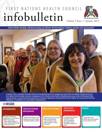 FNHC Infobulletin Volume 5 Issue 1 | January 2012 - First Nations ...