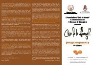 programma - Comune di Calenzano