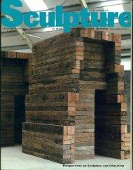 Sculpture Magazine, March 2002 - James Nestor