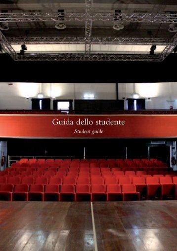 GuidaStudente2012-2013 - Accademia di Belle Arti