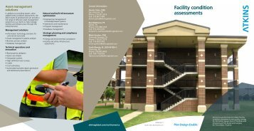 Facility condition assessments