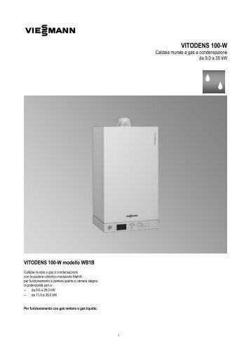 vitodens 100-w - Certificazione energetica edifici