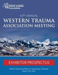 western trauma association meeting