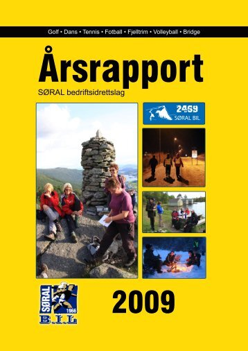 Årsrapport 2009 - søral bil