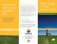View/Download our Pay-As-You-Go Brochure - Town of Wake ...