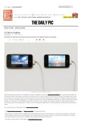 David Horvitz at Art Basel is the Daily Pic by Blake ... - publications