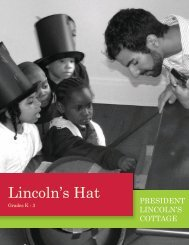 Lincoln's Hat - President Lincoln's Cottage