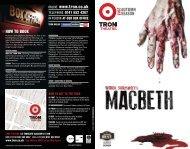 AUTUMN ONLINE www.tron.co.uk - The Tron Theatre