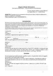 1 Allegato 2 Modulo Dichiarazione (da inserire ... - Liceomanara.it