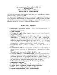 Programmazione per l'anno scolastico 2012-2013 ... - Liceomanara.it