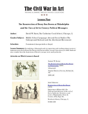 lesson plan the civil war The american civil war explore the lessons online and download pdfs and  materials  civil war lesson plans: elementary lesson plan - the home front.