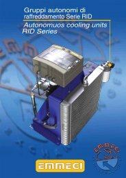 Autonomuos cooling units RID Series - Emmegi Heat Exchangers