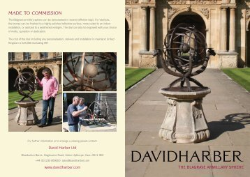Jewel Of An Elizabethan Sundial Brought To Life By ... - David Harber