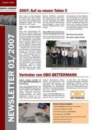 newsletter 01_2007 - Marco Zenner