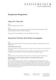 Symposium Programme - Fashioning the Early Modern