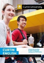 Download Curtin English Brochure [PDF 3.17Mb]