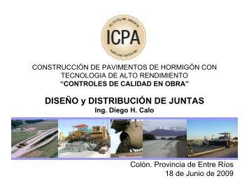 sellado de juntas - ICPA