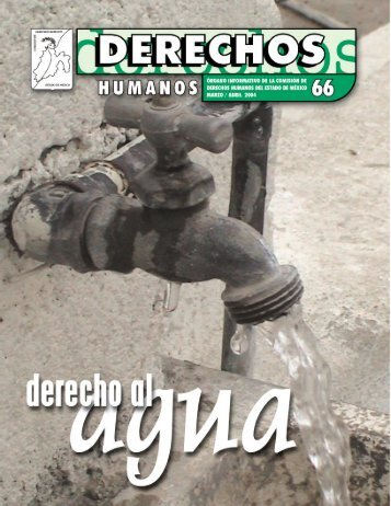 Derecho al agua - codhem