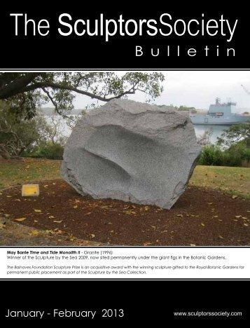 Jan-Feb 2013 - The Sculptors Society