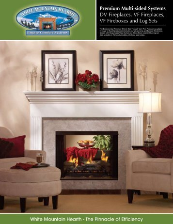 Premium Multi-sided Systems DV Fireplaces, VF Fireplaces, VF