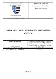cahier des clauses techniques particulieres (cctp) - Sauveterre-de ...