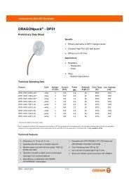 DRAGONpuck® - DP51 - Osram