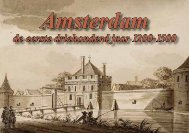 De eerste 300 jaar in het bestaan van Amsterdam - theobakker.net