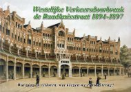 Verkeersdoorbraak Raadhuisstraat 1894-1897 - theobakker.net