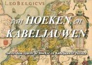 Amsterdam, van Hoeken en Kabeljauwen - theobakker.net