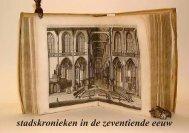 stadskronieken in de zeventiende eeuw - theobakker.net