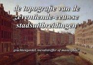 De Derde en Vierde Uitleg 1609-1700 - theobakker.net