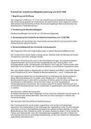 Protokoll (Erwachsene) - Schachbezirk Hannover