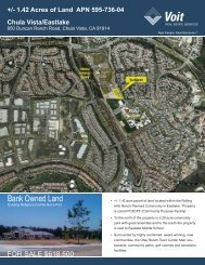 850 Duncan Ranch 8-2010.indd - Voit Real Estate Services