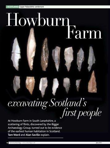 excavating Scotland's first people - Biggar Archaeology