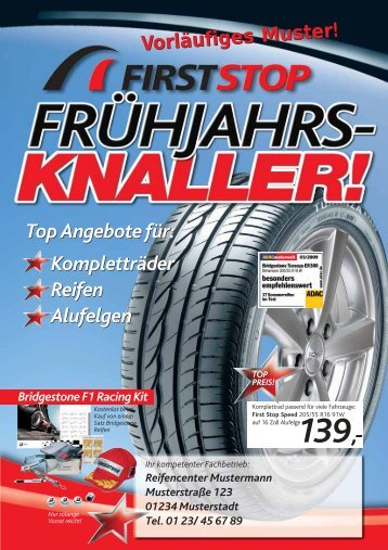 Kompletträder Reifen Alufelgen Kompletträder ... - Reifen Thomsen