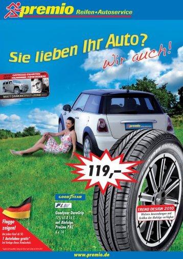 unter www.premio.de - Premio Reifen + Autoservice