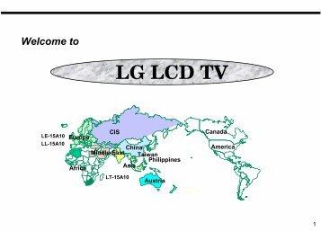 LG LCD TV - Polyphonic