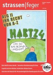 ALG II IHR RECHT VON A-Z - Strassenfeger