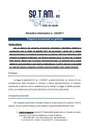 133 2011 TRASPORTI ECCEZIONALI SU GOMMA.pdf - Setam.it