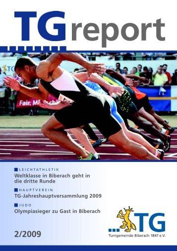 TG-Report 2 / 2009 als pdf-Datei (ca - TG Biberach