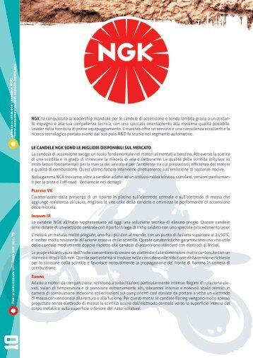 NGK ha conquistato la leadership mondiale per le ... - Bergamaschi