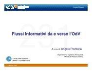 Flussi Informativi da e verso l'OdV - Aodv231.it