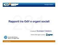 Rapporti tra OdV e organi sociali - Aodv231.it