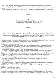 1/10 Legge 18 aprile 2005, n. 62. Disposizioni per l ... - Aodv231.it