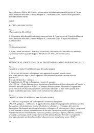 Legge 18 marzo 2008 n. 48 - Ratifica ed esecuzione ... - Aodv231.it