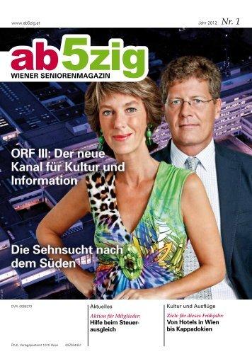 Ausgabe 1 2012 - Wiener Seniorenbund