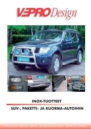 INOX-tuotteet - vepro oy